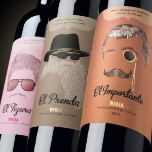 Etiquetas de vinos Siete Pasos