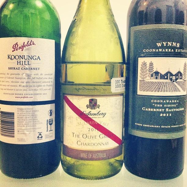 vinos de Australia famosos